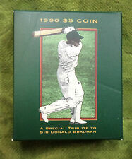 #D234. 1996 PROOF DON  BRADMAN  $5 COIN