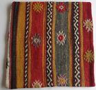 Vintage Turkish Kilim pillow cover (#34)
