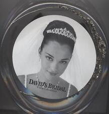 David's Bridal Tall Tiara w/ Metal Flower Design & Crystals, TCY146, GOLD ($199)