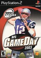 NFL GameDay 2003 (Sony PlayStation 2, 2002)
