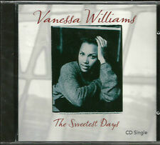 VANESSA WILLIAMS The Sweetest Days w/ UNRELASED TRK SEALED USA CD single 1994