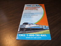AUGUST 2000 MIAMI TRI-RAIL TRAIN SCHEDULE