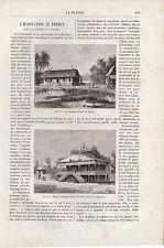 ARCHEOLOGIE PREHISTOIRE MEGALITHES NEOLITHIQUE  NEMOURS 1887
