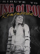 "Michael Jackson T-Shirt Xl Tribute to the ""King Of Pop"" 1958 / 2009 (Remembered)"