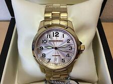 New - Watch Watch Montre George J Von Burg - Steel Gold Plated - Automatic - Box