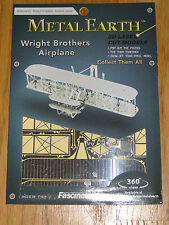 Wright Brothers Airplane Metal Earth 3D Laser Cut Metal Model Fascinations