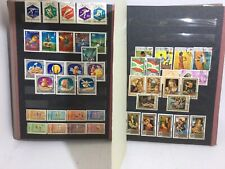 Vintage 1960s Olympic Stamp Album Life Long 1000s Stamps Collected Worldwide SEE