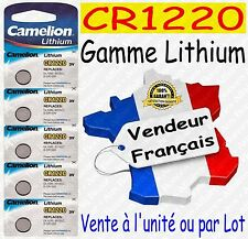 Piles boutons Lithium 3V Camelion - CR2016 CR2025 CR2032 CR2330 CR2430 CR2450