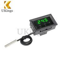 -50~110°C W1209 Temperature Controller 12V Digital Thermostat Switch Sensor+Case
