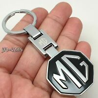 MG Chrome Metal Key Ring Gift Box Keyring Key Fob Chain Gift For Him Her