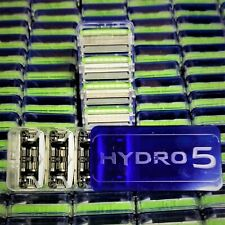 40 x NEW, ORIGINAL SCHICK HYDRO5 H5 SENSITIVE RAZOR BLADE REFILLS with TRIMMER