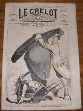 Le Grelot Journal Satirique N°133 Enfin ! Par Alfred Le Petit 26 Octobre 1873