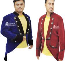 Men's Velvet VLADIMIR TUXEDO Jacket Tail coat Goth Steampunk Victorian Handmade