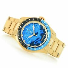 Invicta Speedway Dragon Automatic Crystal Blue Dial Batman Bezel Watch 28355