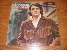 """B.J. THOMAS """"MOST OF ALL"""" 1970 SCEPTOR SPS-586"""