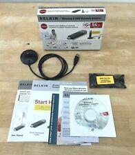 Belkin Wireless G USB Network Adapter 54Mbps F5D7050uk BNWB