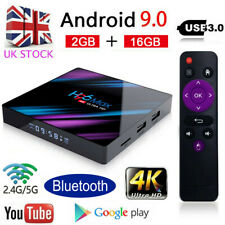 UK H96 MAX RK3318 Wifi Android 9.0 2G+16G Quad Core Ultra 4K BT4.0 Smart TV Box