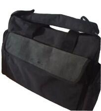 EDDIE BAUER Black Gray Laptop Messenger Shoulder Cross Body iPad Tablet Bag