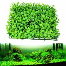 Artificial Aquatic Green Grass Plant Lawn Turf Aquarium Fish Tank Landscape