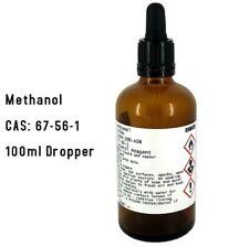 More details for methanol 99.98% 100ml dropper bottle - model engine fuel - hobby fuel