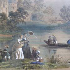 Original-Lithographien (1800-1899) aus Frankreich mit Landschafts-Motiv