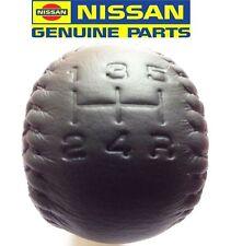 GENUINE NISSAN SKYLINE GTR R32 R33 GTS BNR32 BCNR33 RB26 LEATHER GEAR SHIFT KNOB