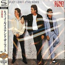 HUEY LEWIS & THE NEWS - Fore! - Japan Jewel Case SHM - UICY-25462 - CD