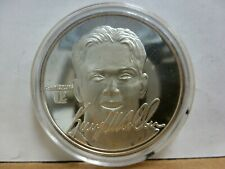 Highland Mint Kerry Collins Silver 1oz .999 Coin # 0754