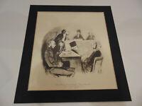 Such A Devoted Husband - Honore Daumier Les Gens De Justice lithograph print
