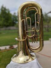 Meinl Weston Custom Vintage Raw Brass Model 10 BBb 3/4 Size Convertable Tuba