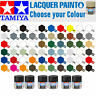 TAMIYA 6 x Lacquer Model Paint 10ml - Choose your Colours - Model Paints Humbrol