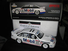 Biante B182706E 1:18 1991 Holden HRT VN SS Group A Commodore Diecast Car - White/Blue