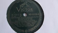 Louis Armstrong - 78rpm single 10-inch – Victor #40-0103 I Gotta Right To...