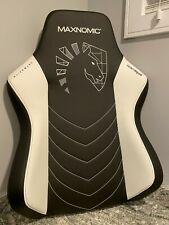 New listing Maxnomic Team Liquid Gaming Chair Backrest Only (Black and White)