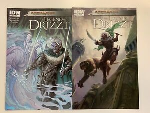 IDW DUNGEONS & DRAGONS : NEVERWINTER TALES : THE LEGEND OF DRIZZT #5 : REG + RI