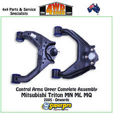 SUPERPRO UPPER CONTROL ARM KIT fit MITSUBISHI TRITON MN ML MQ 2005-On TRC500