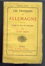 1876-V.TISSOT/LES PRUSSIENS EN ALLEMAGNE- //EDIT.E.DENTU