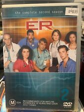 ER THE COMPLETE SECOND 2ND SEASON SERIES RARE DVD GEORGE CLOONEY Region 4