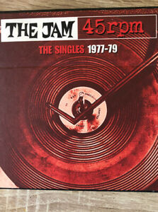 The Jam Singles 1977-79 Cd Box Set