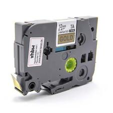 Cassette de cinta 12mm N/O para Brother P-Touch 1200S / 1230PC / 1250