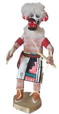 Kachina Hopi Carved Wood Doll Sculpture Hano Bear Signed Navajo American Largo