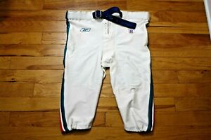 2002 Miami Dolphins game used pants Reebok size 58 Big Boy long with belt