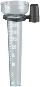 40mm Rain Gauge Holder Measurement Ground Precipitation Rainfall Garden Weather