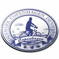 Round Mouse Mat - Copenhagen Denmark Danish Travel Office Gift #5934