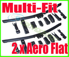 Pair Of Replacement Aero Flat Windscreen Wiper Blades 23 580mm 21 530mm