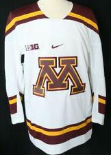 NEW Minnesota Golden Gophers Burgundy Nike College Hockey Jersey Men's L