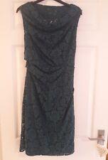 Coast lace green dress...size 12...mid length