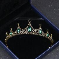 Vintage Wedding Crown Bridal Tiara Rhinestone Hair Accessory Crystal Princess