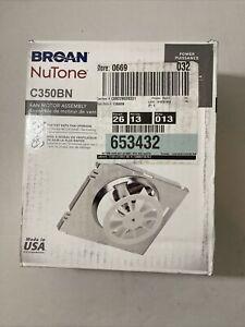 Broan NuTone C350BN 50 CFM Fan Motor Assembly