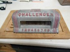 ABT Shooting game ,challenger metal head arcade game from the 1940'